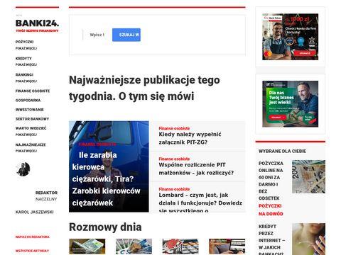 Banki24.com.pl opinie o pożyczkach