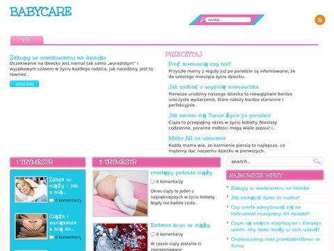 Baby Care - strona ciążowa
