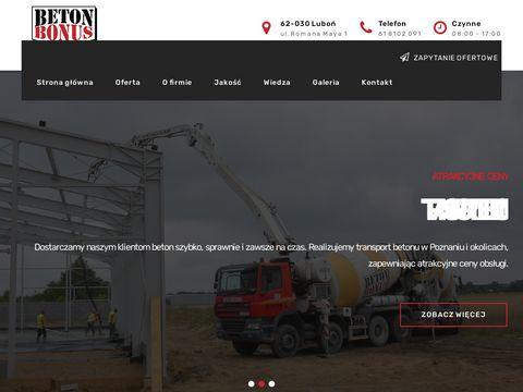 Beton Bonus - betoniarnia Poznań