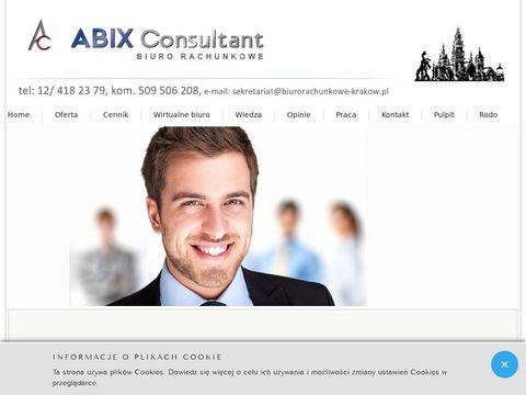 Abix Consultant Biuro Rachunkowe Kraków