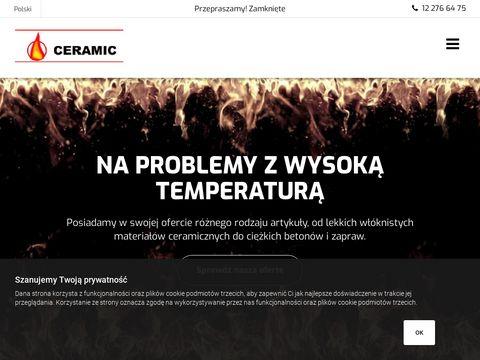 Zaprawa ognioodporna - Ceramic