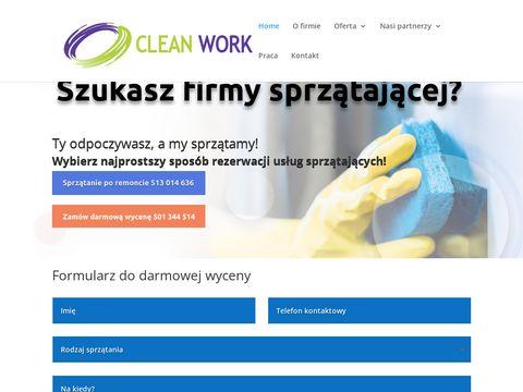 Firma sprzątająca CleanWork Szczecin