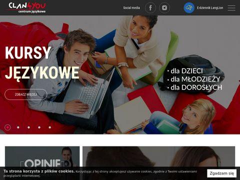 Clan4you - szkoła językowa Tarnowskie Góry Zabrze