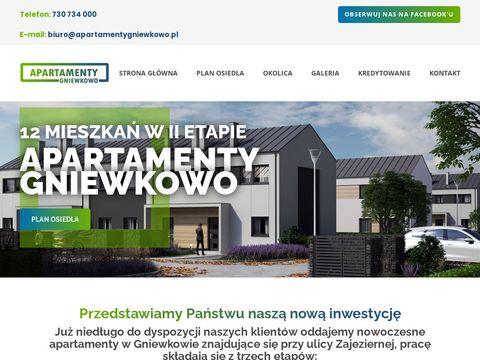 Apartamentygniewkowo.pl - nowe osiedle