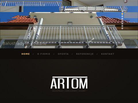Artom24.pl balustrady szklane Gdynia, Gdańsk