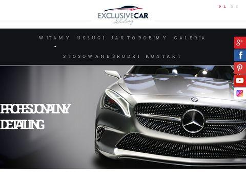 Autodetailing-szczecin.pl polerowanie samochodu