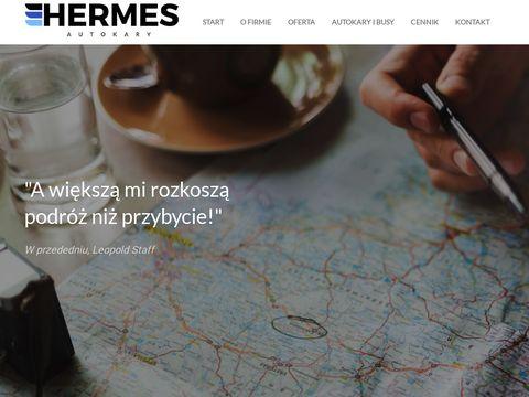 Autokaryhermes.pl przewozy autokarowe Toruń