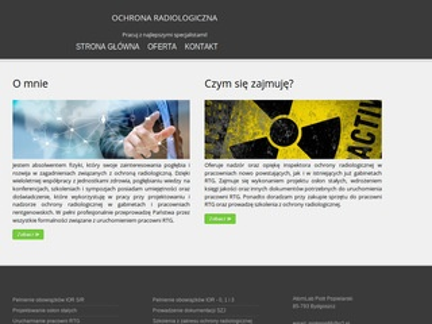 Atom-Lab ochrona radiologiczna