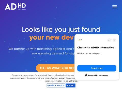 Agencja z Poznania - Adhd Interactive.