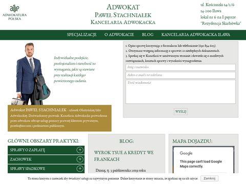 Adwokat-ilawa.com Paweł Stachniałek