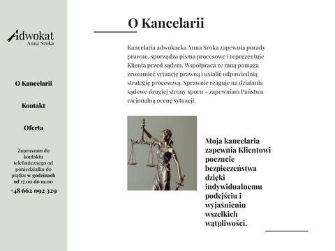 Annasrokaadwokat.pl - prawo cywilne Kraków