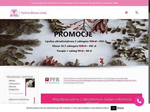 Gabinet dietetyczny, makijaż - Anies - Poznań
