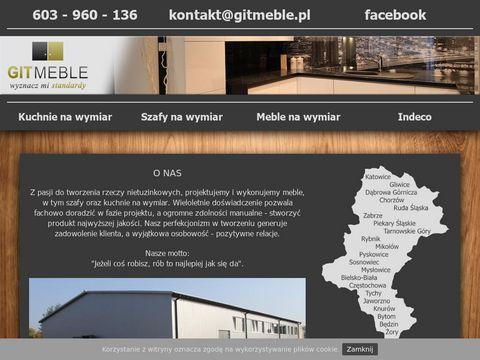 Git-meble.pl - garderoby Ruda Śląska