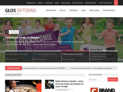 Glosbytomia.pl - portal regionalny