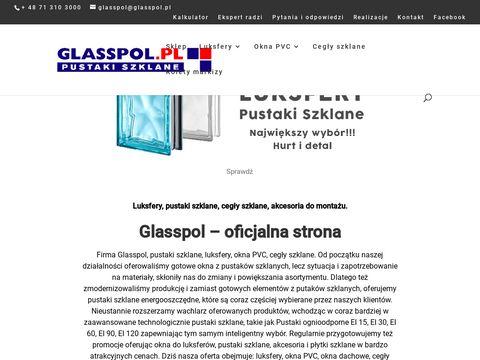 Glasspol.pl szkło luksfery fusing okna