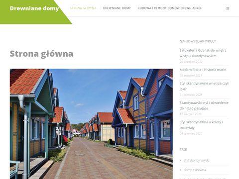 Drewniane-domy.com budowa