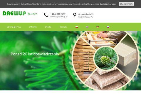 Drewup.pl - drewniane fronty meblowe