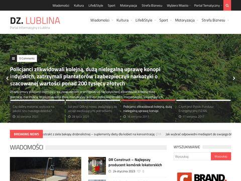 Dzienniklublina.pl internetowy portal regionalny