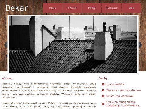 Dachydekar.com.pl dekarstwo