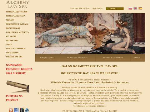 Alchemy Day Spa Warszawa salon kosmetyczny
