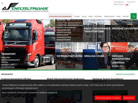DeltaTrans magazynowanie i pojemniki transportowe