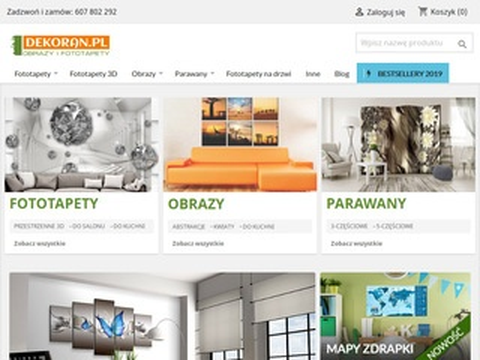 Dekoran.pl - fototapety 3D