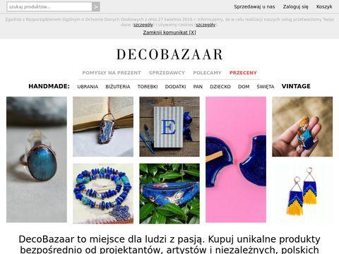 Decobazaar.com handmade sklep