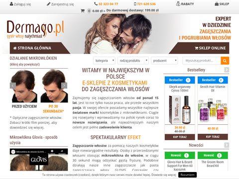 Dermago.pl - kosmetyk zagęszczające włosy