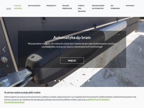 Ditex automaty do bram garażowych