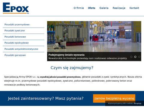 Epox - posadzki przemysłowe, żywiczne