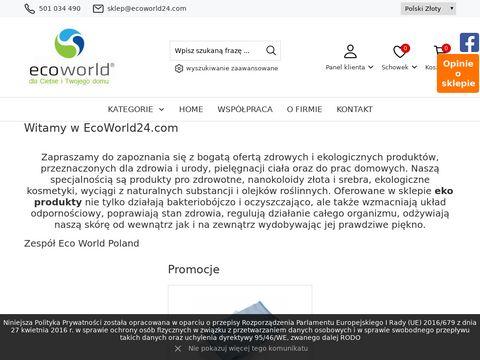 Eko produkty dla zdrowia i urody