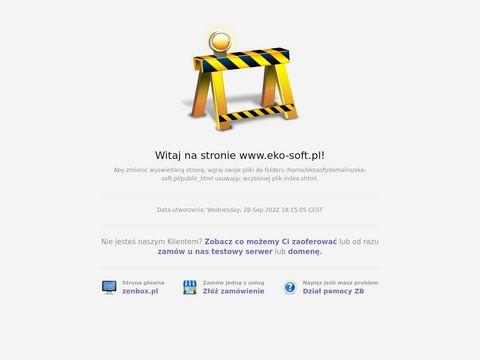 Eko-Soft Ewidencja odpadów