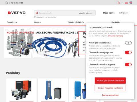 Sprężarki powietrza Vervo.pl