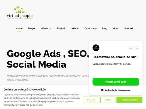 Virtualpeople.pl - strony internetowe Szczecin