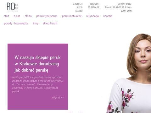 Perukikrakow.com.pl damskie