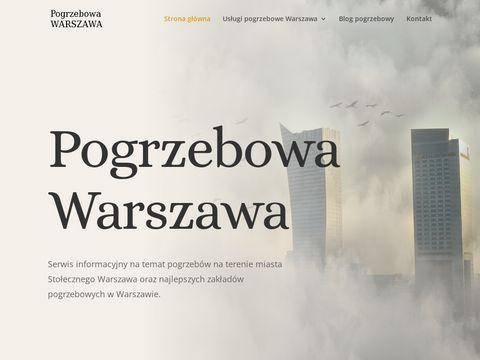 Pogrzebowawarszawa.pl serwis pogrzebowy