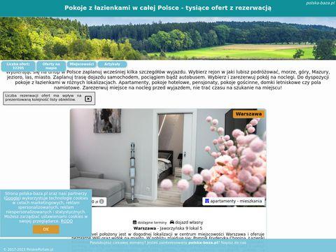 Baza noclegowa - Polska-baza.pl