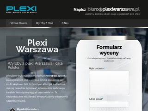 Plexiwarszawa.pl - wyroby