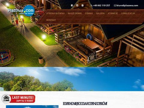 Plażowa - domki letniskowe Mielenko