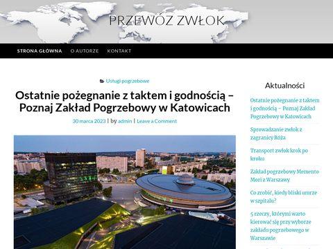 Przewozzwlok.com.pl organizacja