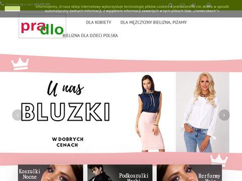 Pradlo.pl sklep z bielizną i odzieżą online