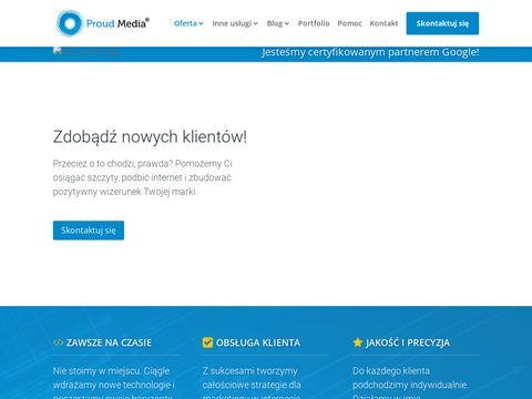 Pozycjonowanie Bielsko-Biała - Proud Media