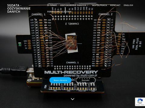 SGdata - pogotowie komputerowe Gliwice