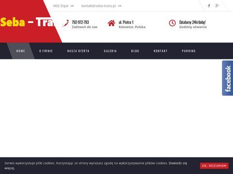 Seba-Trans - transport hds