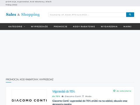 Salesandshopping.pl - promocje