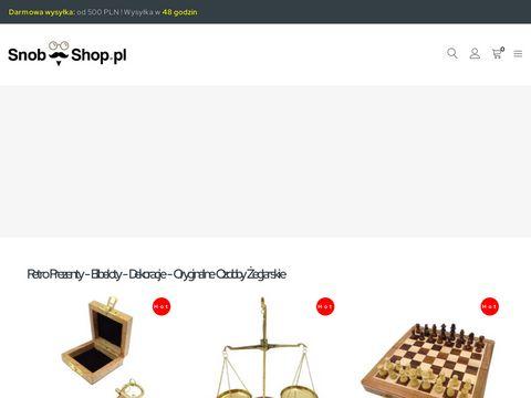 Prezenty na biurko - snob-shop.pl