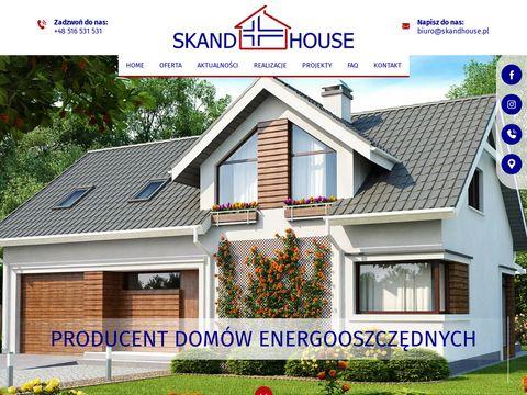Skandhouse.pl technologia szkieletowa