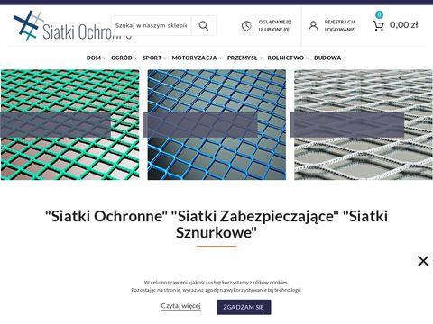 Siatki-ochronne.com.pl - sznurkowe