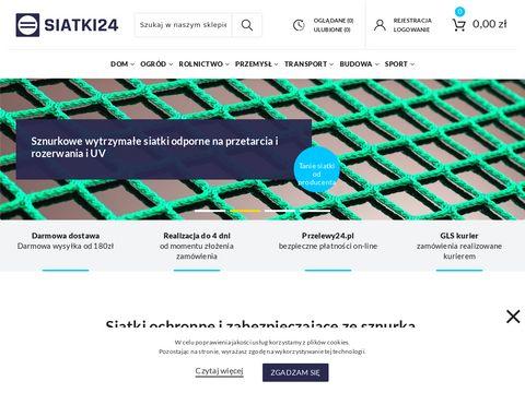 Siatki24.eu do zabezpieczeń