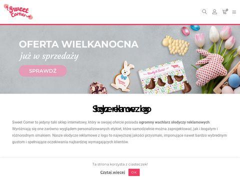 Lizaki z logo - Sweet Corner